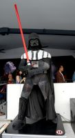 Massive Lego Vader by tarynsgate