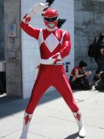 Fanime 2009: Red Power Ranger by Silent-Raziel