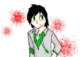 Luko in human form c: by steampuff