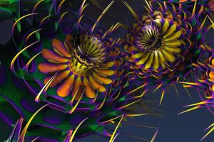 Fractalum Multicolour by GrahamSym