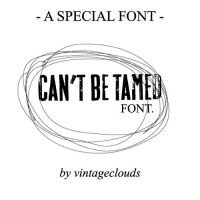 Miley Cyrus - Can't b..- Font. by vintageclouds