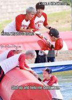 JunWoon at Dream Team by aru-niichan