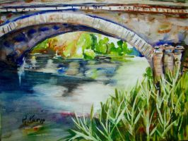 Water Under The Bridge by p-e-a-k