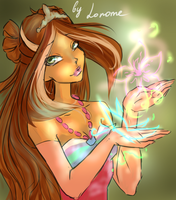 Flora enchantix portrait by Lonome