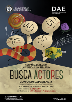 Poster Teatro USS by LuchoVolke