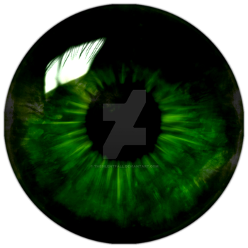 Green Solar Eye - Finished by TheSilentFall