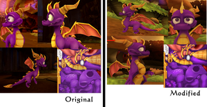 Spyro ANB Texture Improvement by DragonOfIceAndFire