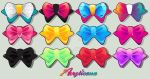 Ribbons Collection: Shiny Bows by marywinkler