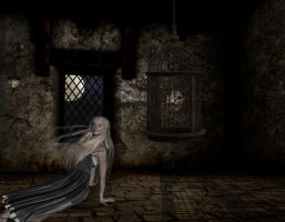 Heart in a cage by RedHeadLilith