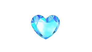MMD Diamond Heart (bokeh) by kkinatv