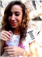 Whats That On My shoulder ? by S-iS-i