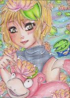 Little Copycat ACEO 106 by Enatis