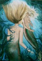 Mermaids reworked by Larainjp