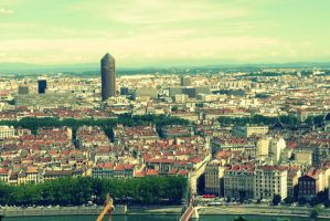 View of Lyon by black-ladybird