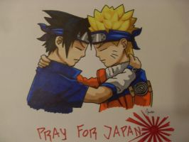 Pray For Japan by Bean056