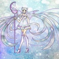 Silver Sailor Moon by McMugget