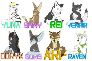 Badges! by Silenthowl7