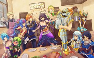 Brave Frontier - The 12 Guardians by Vayreceane