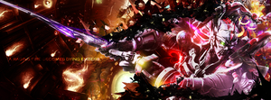 Yoshimitsu: A raging fire becomes dying embers. by RaizenGFX