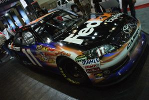 Denny Hamlin s car by nuttbag93
