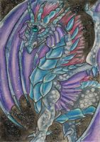 Azure Queen Aceo by Eviecats