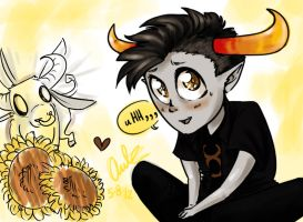 Tavros desu by unconventionalhill