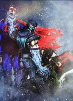 Sub-Zero...Annihilation of the Justice League by Grapiqkad