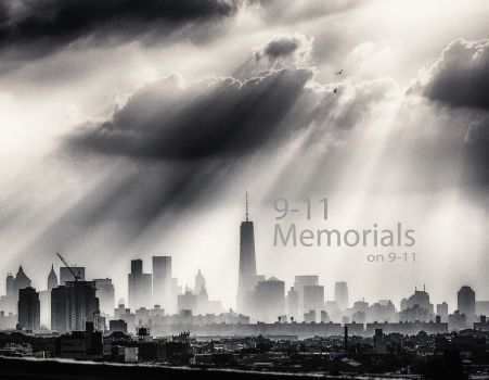 2014 Calendar: 9-11 Memorials on 9-11 by AugenStudios