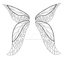 Faerie Wings Tattoo Design by jediprincess