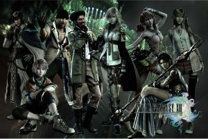 Final Fantasy XIII Wallpaper by ShinraWallpapers