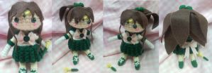 Crocheted Sailor Jupiter by Zhonaluz