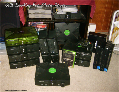 a Few MORE Consoles... by LocalPirate