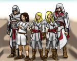 Assassin's Creed Characters for Pinkskittles by jameson9101322