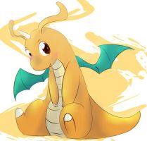 Dragonite for dragoniteheart by Kspmill
