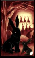 The Black Rabbit of Inle by Crooty
