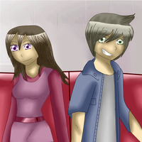 Junjou Romantica Natsuo and Akimi by anthirules