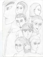 """Group Drawing 2 """"Sketch"""" by nativetech"""
