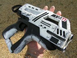 mass effect  M77 pistol commission by faustus70