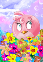 Stella - Pink Bird by Fonora
