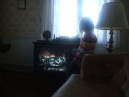 Glued to the Telly by Haayls