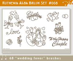 Brushset 08: Wedding Fever by Ruthenia-Alba