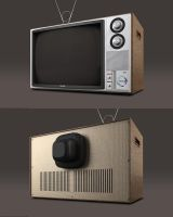 Vintage Television | R:2 by abdelrahman