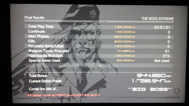 Metal Gear Solid 4 Big Boss Run by WilHiteWarrior
