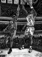 Kevin Garnett by DirtyD41