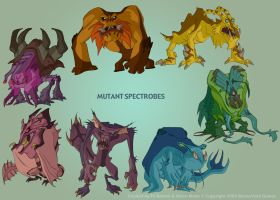 Spectrobes: Concept Art 02 by filbarlow