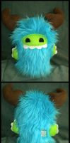Little Blue Monster by StuffItCreations