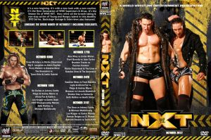 WWE NXT October 2012 DVD Cover by Chirantha
