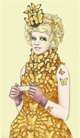 Effie Trinket by Moth-Queen