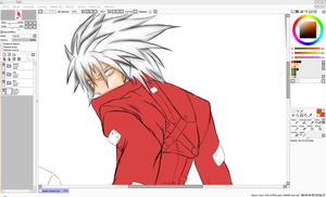 WIP: BB Ragna The Bloodedge by UmedaIsao