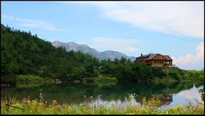 Pride of Slovakia #4 - Green Lake, High Tatras by Wewericka